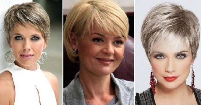 100 модных женских причесок дамам 50 и 55 лет 2020