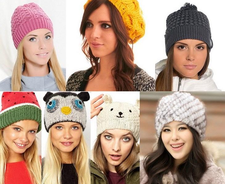 Вязание модных шапок 2016 года 369