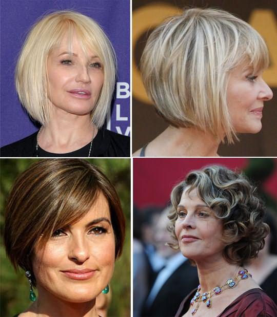 Стрижки волос 50 летним женщинам 2020
