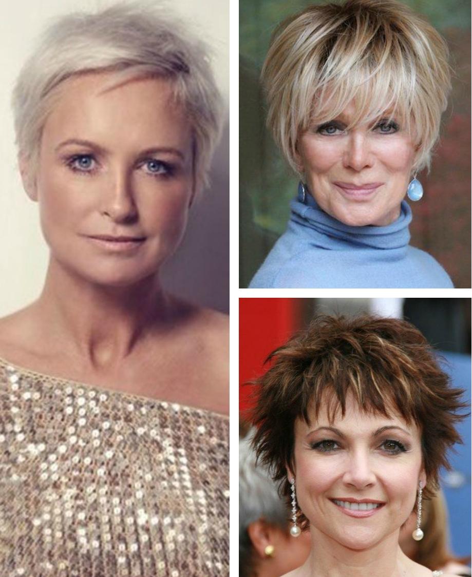 Стрижки волос 50 летним женщинам, прически дамам после 55 лет 2020