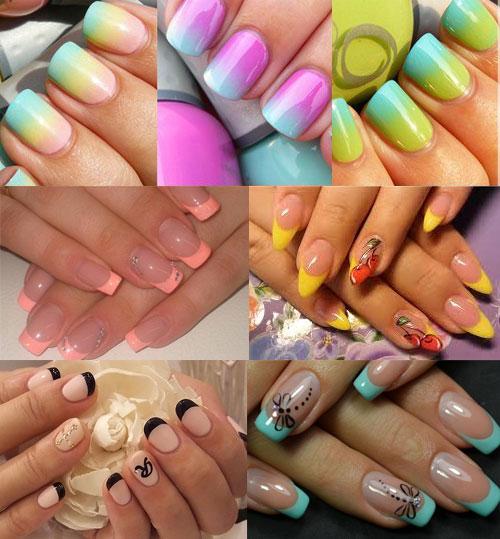 Шеллак 2017 - дизайн ногтей