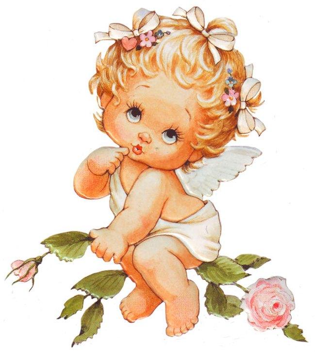 Скрап картинки ангелочки