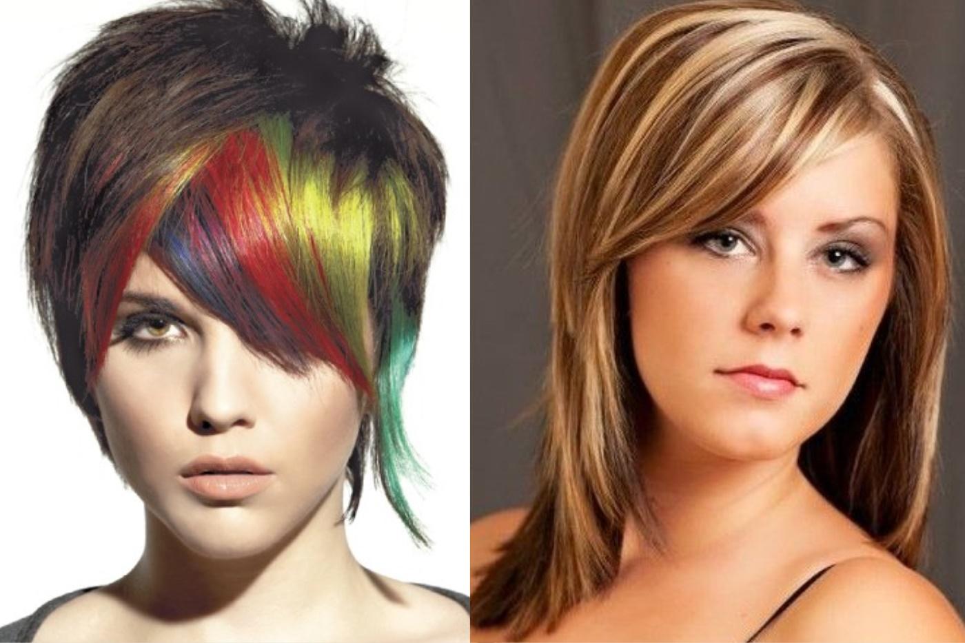 как покрасить волосы в два цвета фото хори также
