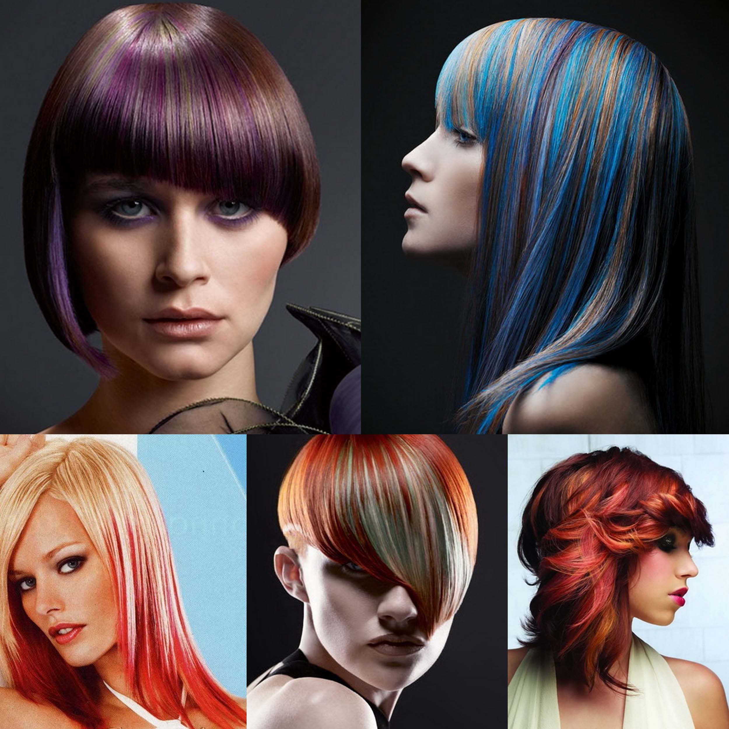 картинки стрижка и окраска волос членов