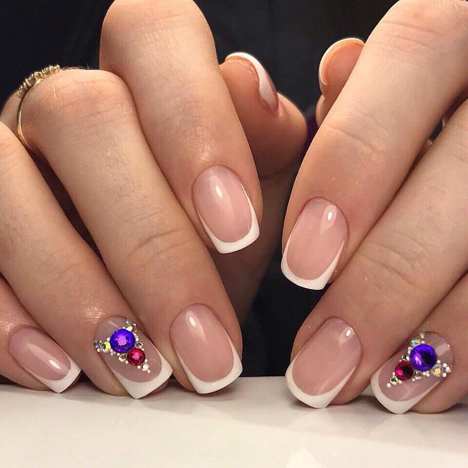 Картинки дизайна квадратных ногтей