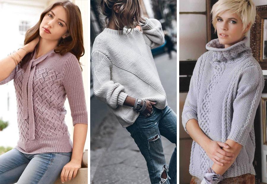 модные вязанные кофты женские спицами фото и схемы кардиган яркого