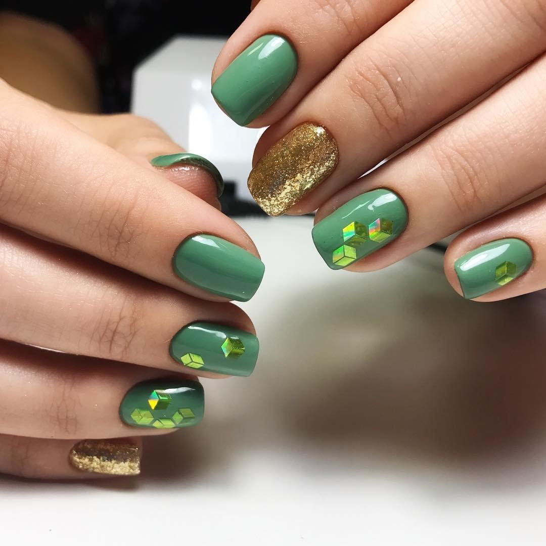 зеленые ногти дизайн фото шеллак мамочки обнажают себя